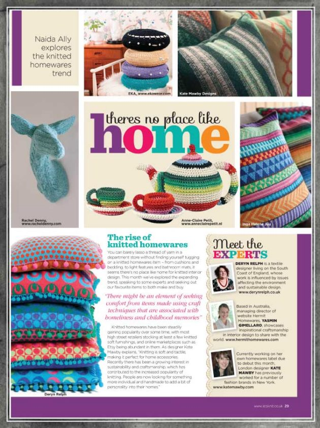 Sneak Peek: Lets Knit Magazine