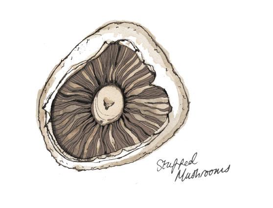 Mouth Watering: Stuffed Mushrooms
