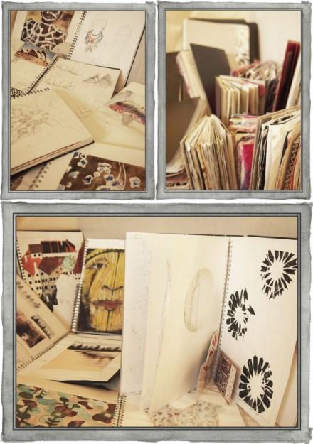 Discovered Again: Sketchbooks