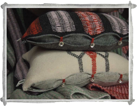 "Sneak Peek: ""Nuba"" – a collection of knitted cushions and throws"