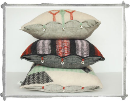 Sneak Peek: knit cushions and throws