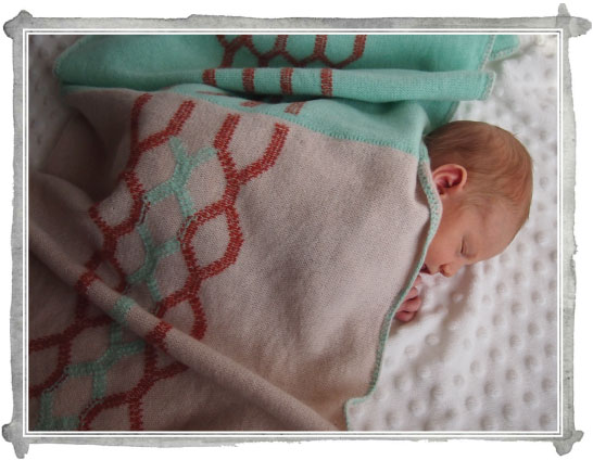 Sneak Peek: Knitted Baby Blankets