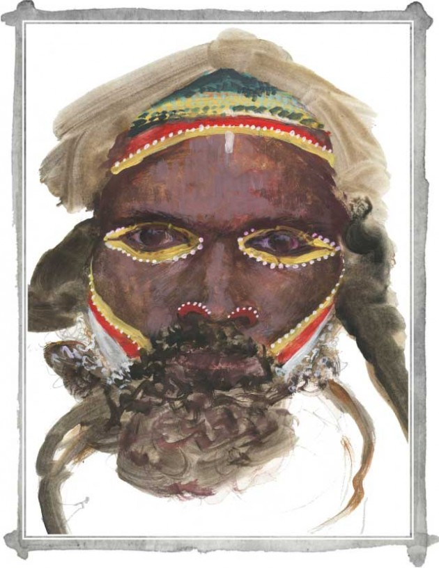 Discovered Again: New Guinea tribal body decoration