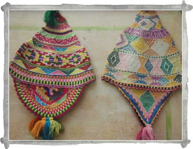 In Sight: traditional Peruvian knitted chullos (hats)