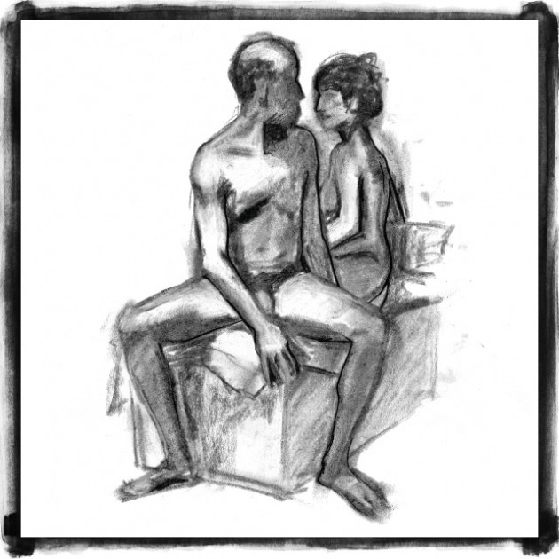 Discovered Again: Charcoal Life Drawings