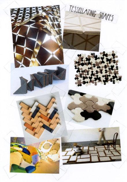 Loving Now: Tessellating Shapes