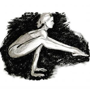 Yoga Artwork by Kate Mawby