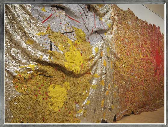 Lasting Impression: Gravity and Grace – El Anatsui at the Brooklyn Museum