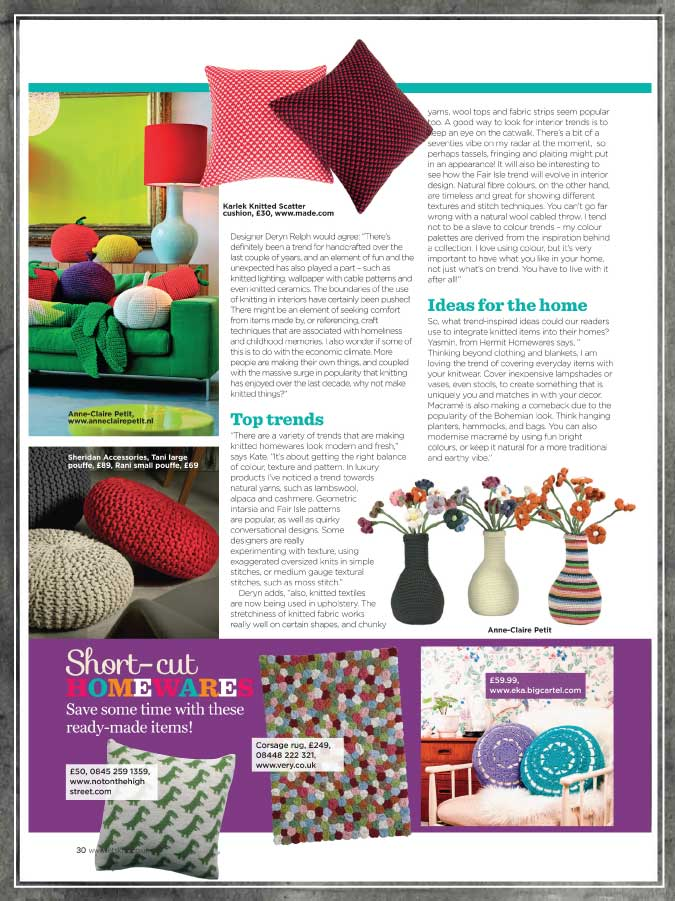 Lets Knit Magazine March 2013