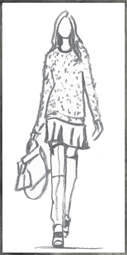 In Sight: Fashion Week Sketches – 1