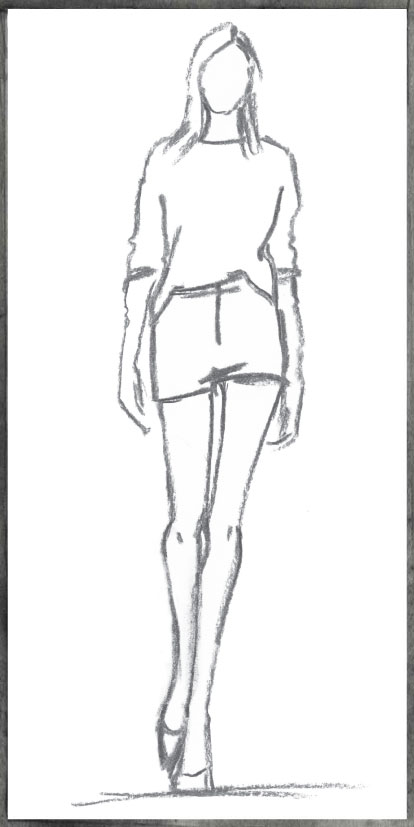 In Sight: Fashion Week Sketches – 2