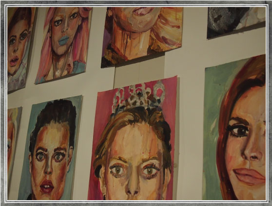Oaktree & Tiger - gallery promoting the work of emerging artists, such as Jennifer Louise Martin
