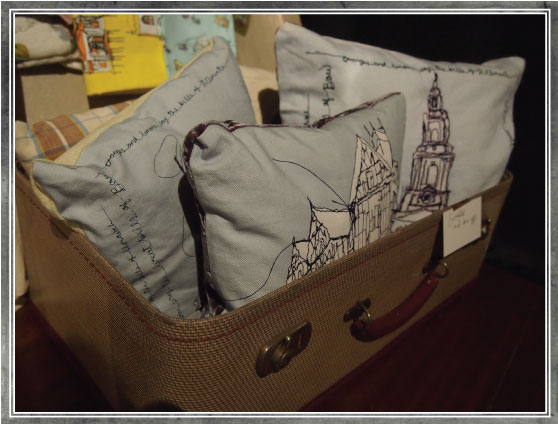 Tobyboo - nostalgic embroidery illustrations drawn freehand with a sewing machine