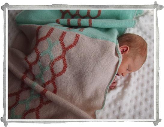 Sneak Peek: Knitted Baby Blankets