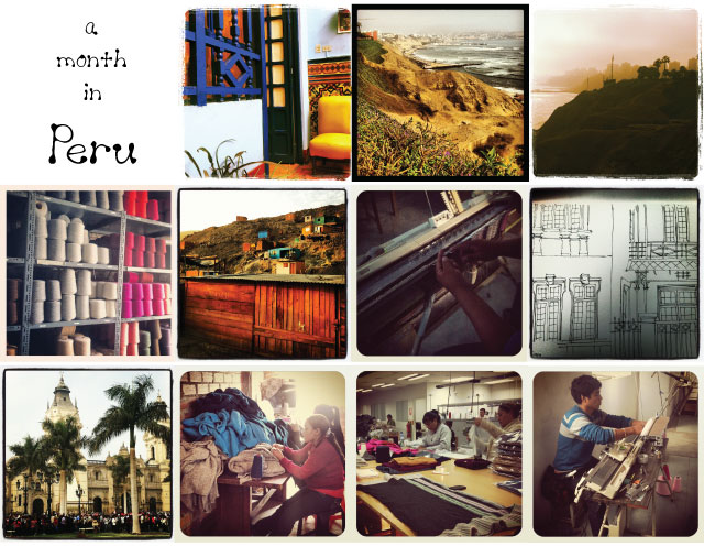 Kate Mawby's Instagram photos from her travels in Peru
