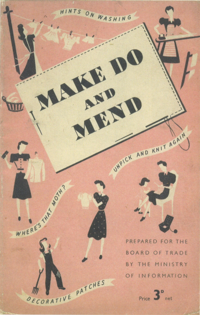 Make Do and Mend front cover of 1948 booklet
