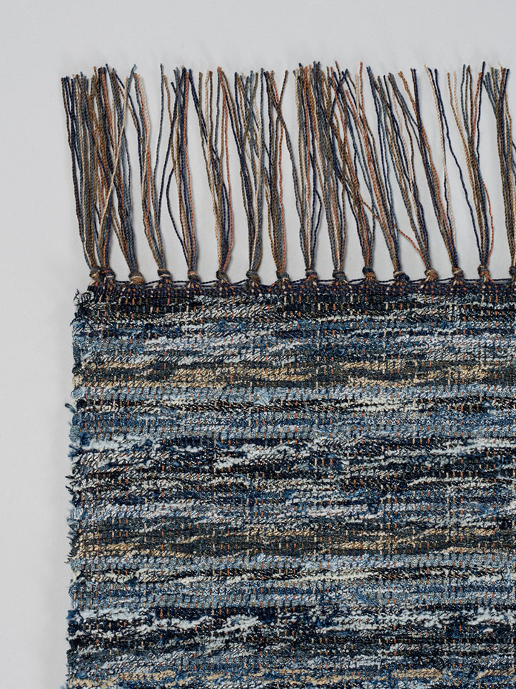 Nudie Jeans - rug made from recycled jeans