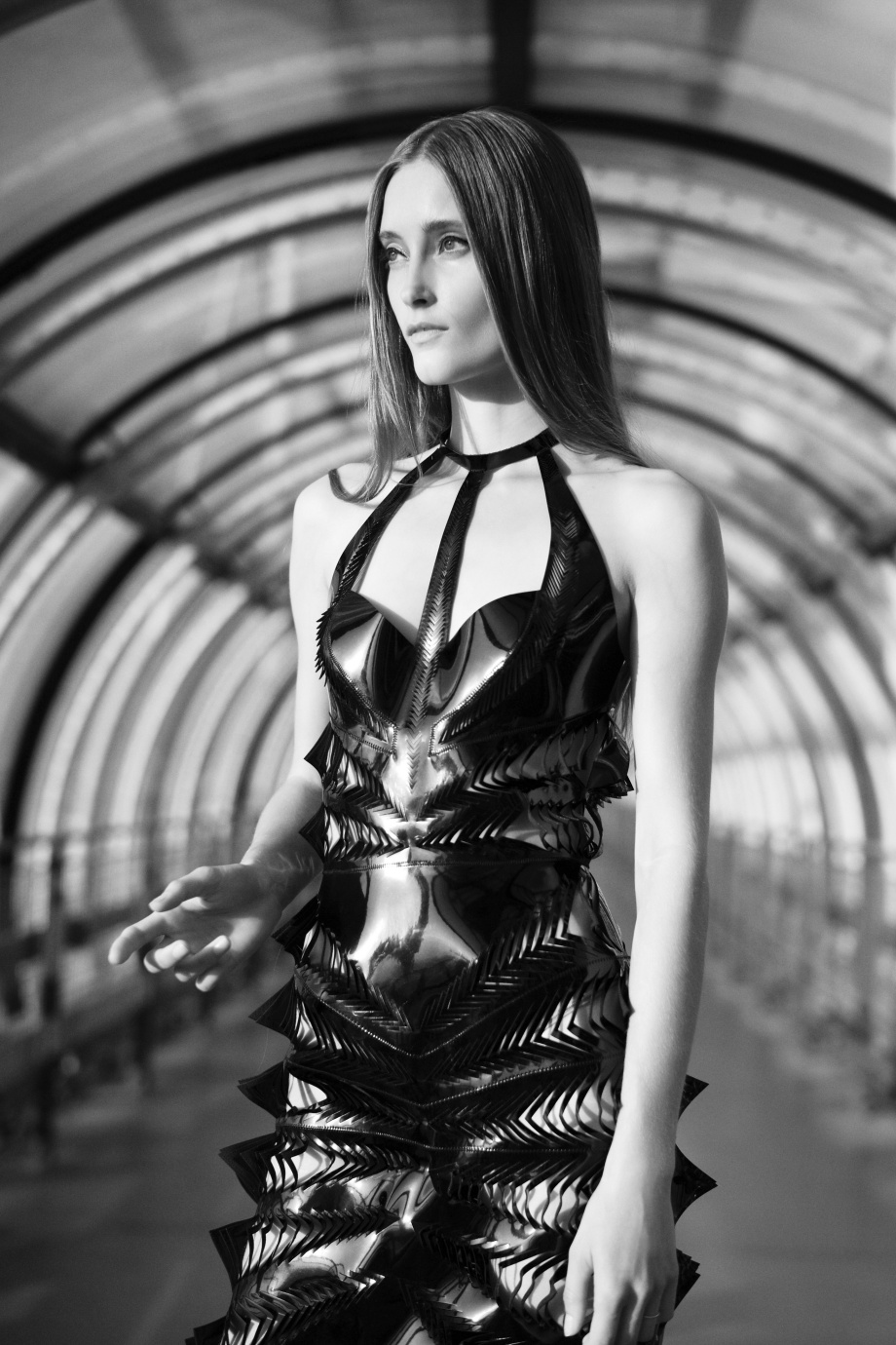 Iris Van Herpen - Magnetic Motion collection SS2015