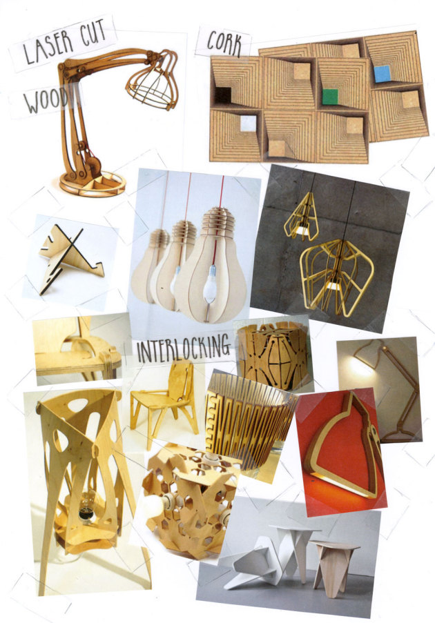 Loving Now: Laser Cut Wood